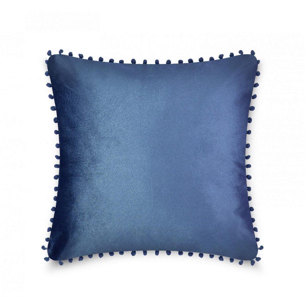 31159773 cushion cover pom pom 43x43 blue horizon 1 4