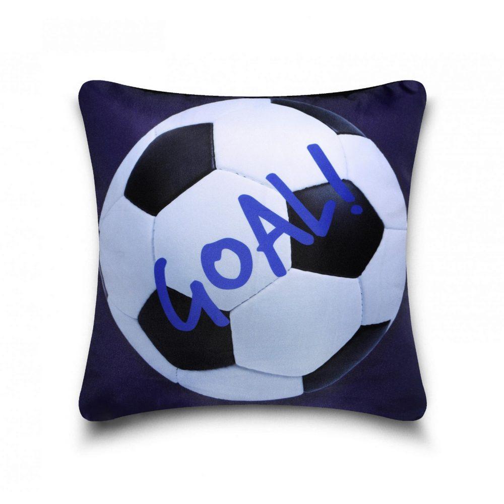 31163503 kids cushion cover football blue 1 1