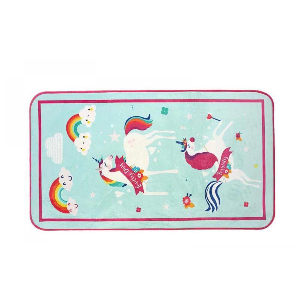 31163589 kids printed rug unicorn 1 1