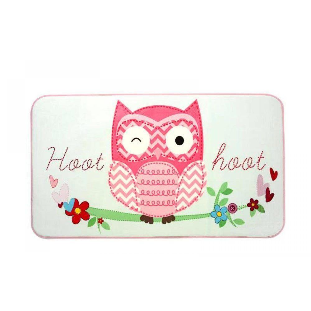 31163596 kids printed rug owl 1 1