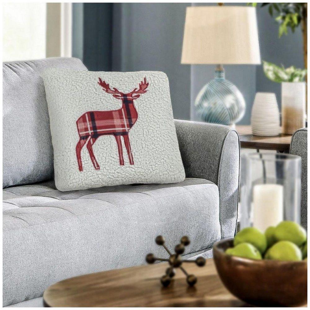 31356608 cushion cover emb teddy stag 45x45 cream 1 3