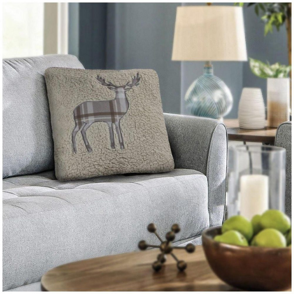 31356660 cushion cover emb teddy stag 45x45 natural 1 3