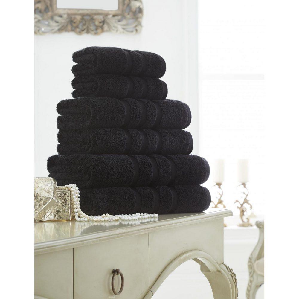 41108573 zero twist bath sheet black 1