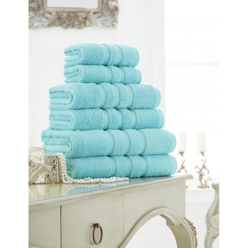 41108603 zero twist bath sheet aqua 1