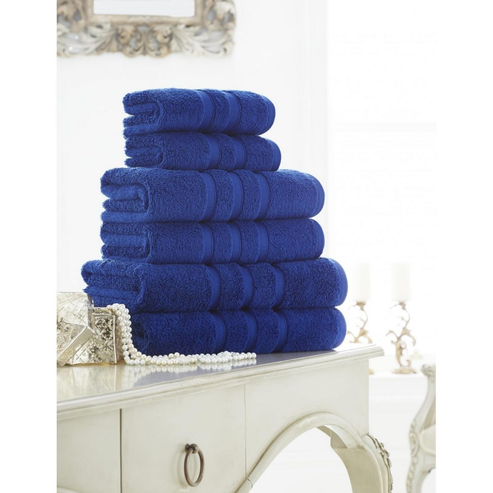 41108627 zero twist bath sheet electric blue 1