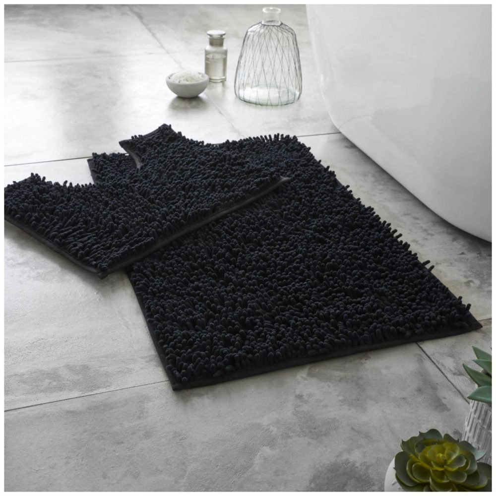 41117391 extra large loop bath set black 1 2