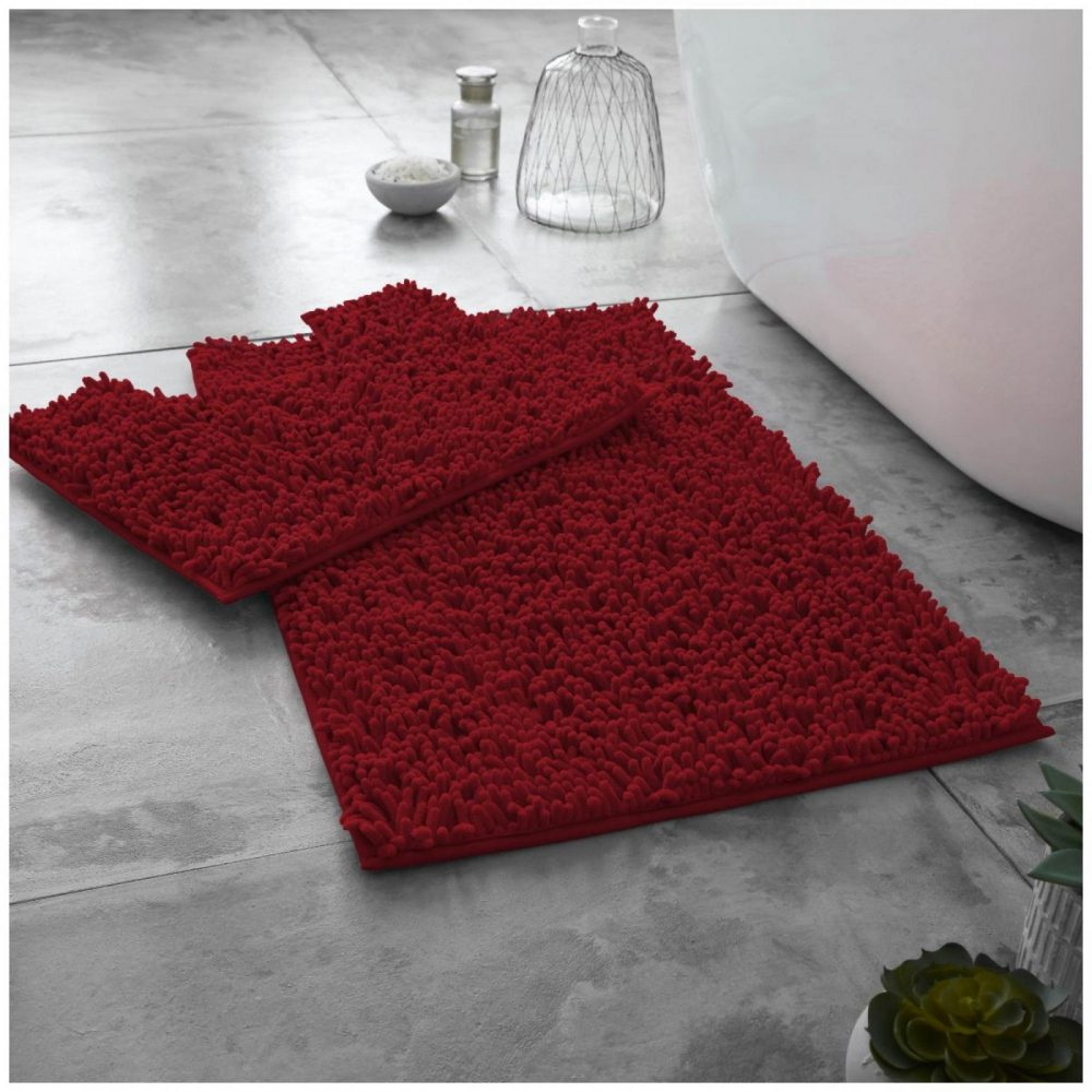 41117421 extra large loop bath set deep red 1 2