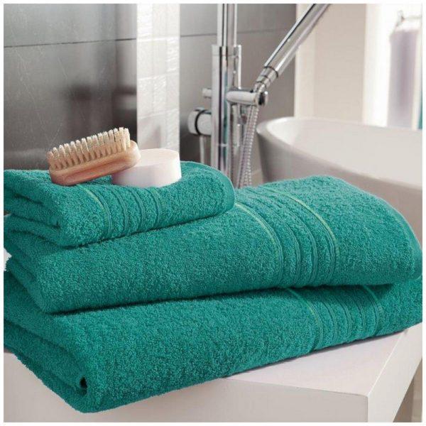 41148333 bath sheet hampton aqua 1