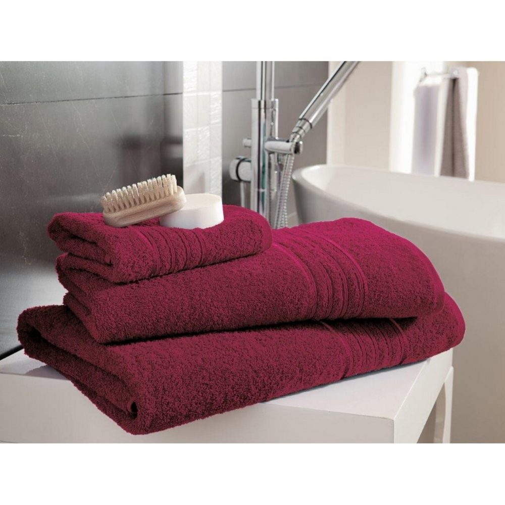 41148388 bath sheet hampton hot pink 1
