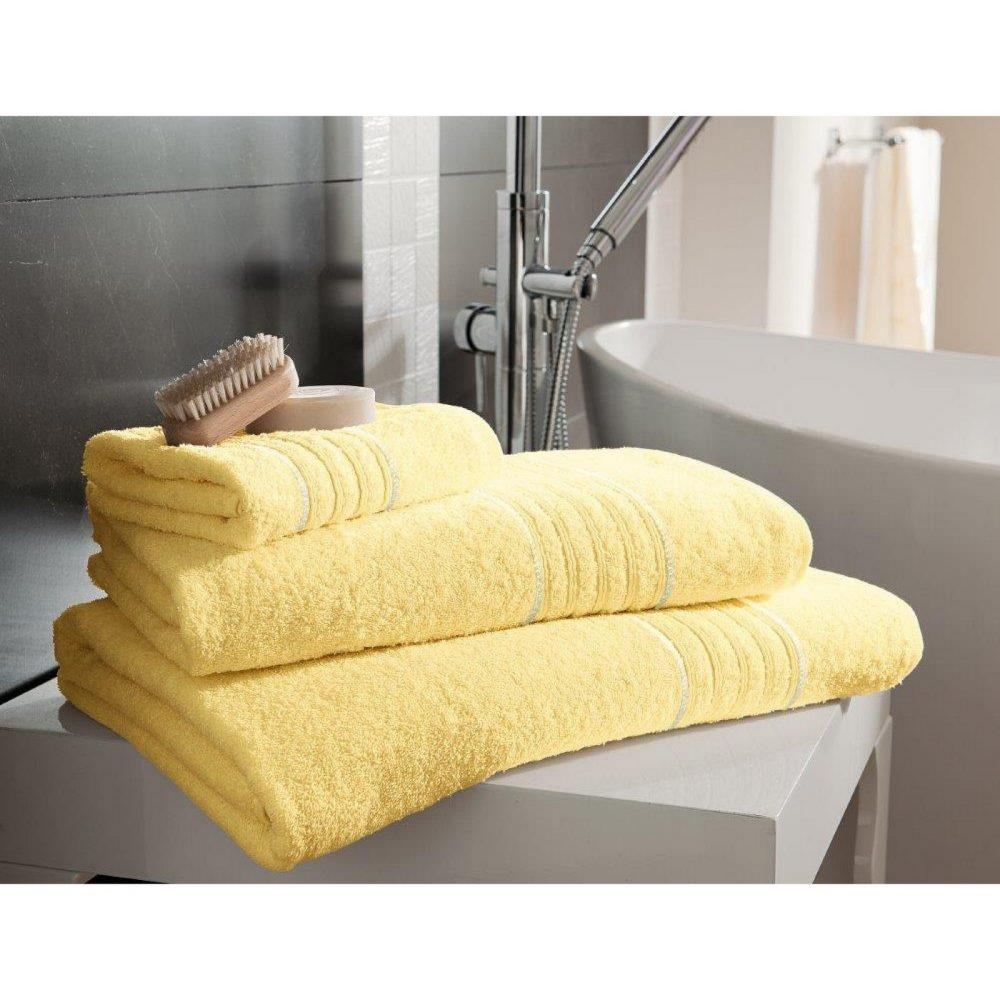 41148395 bath sheet hampton lemon 1