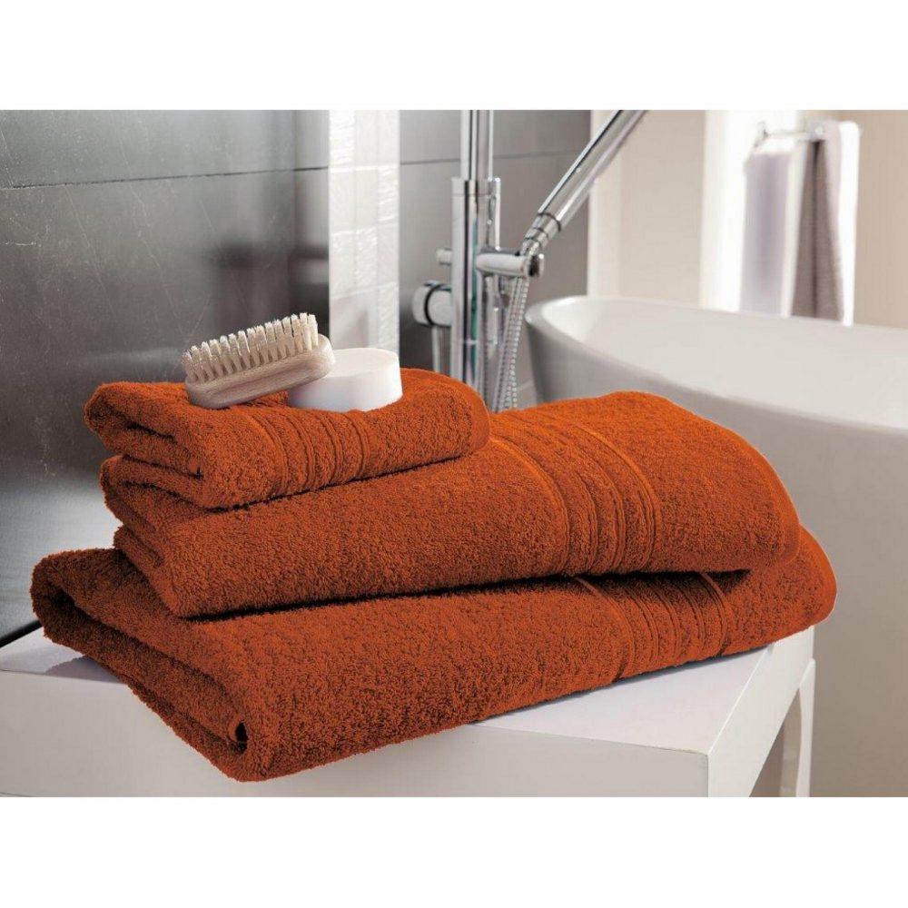 41148432 bath sheet hampton orange 1
