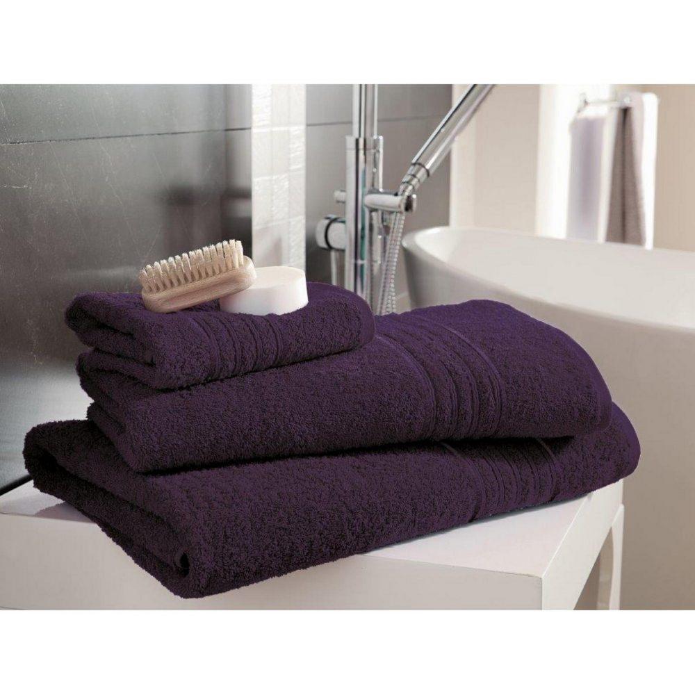41148449 bath sheet hampton purple 1