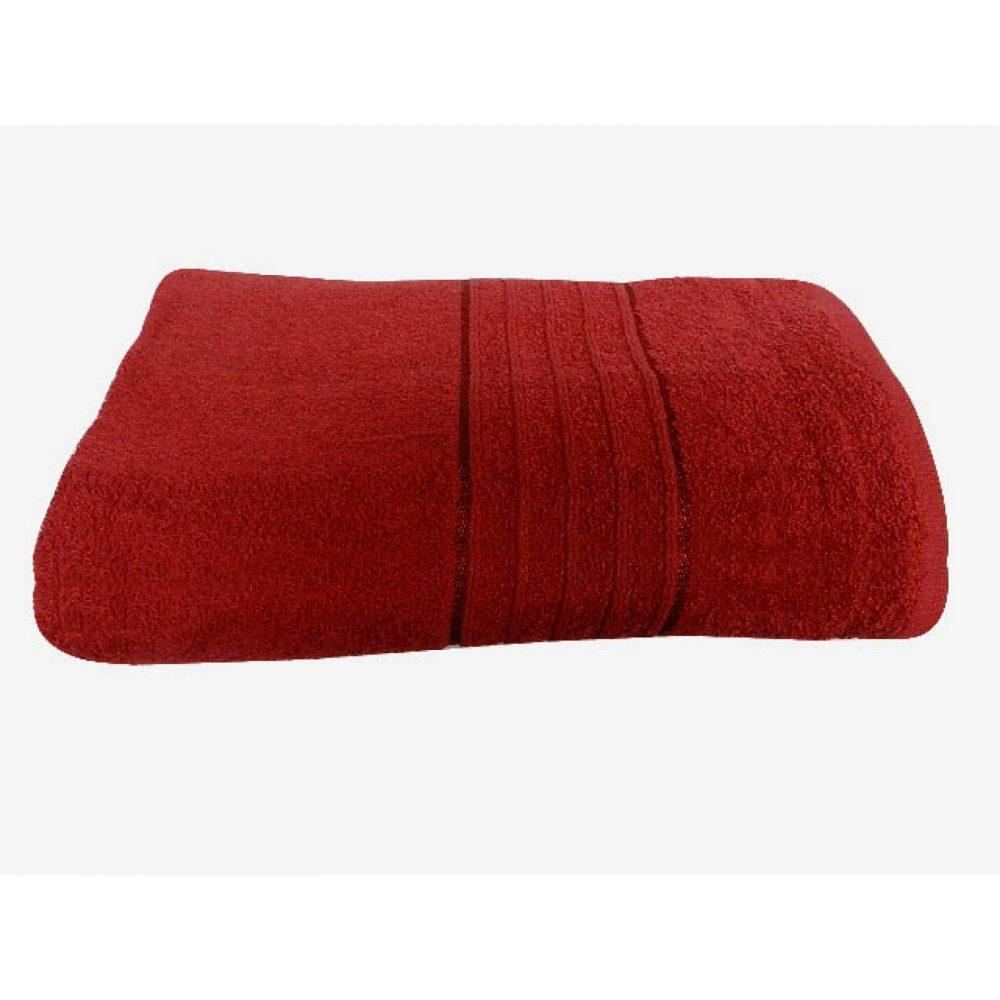 41148456 bath sheet hampton red 1