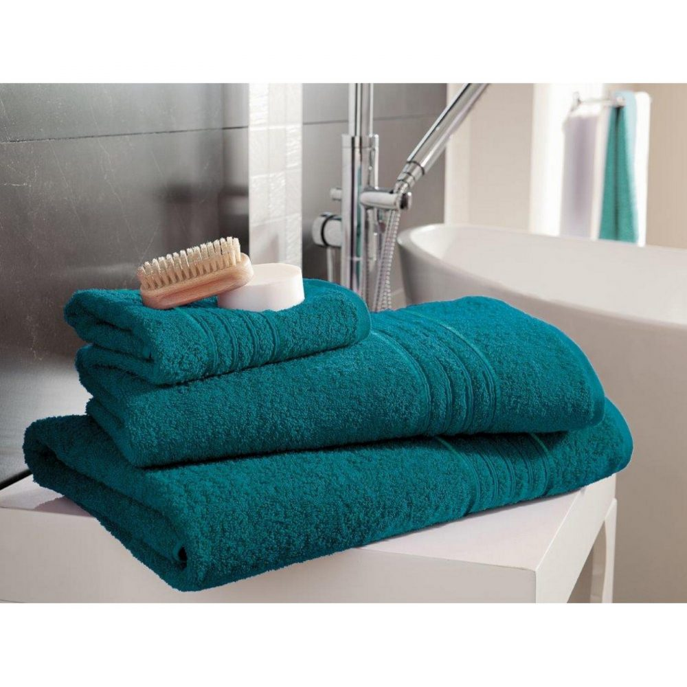 41148470 bath sheet hampton teal 1