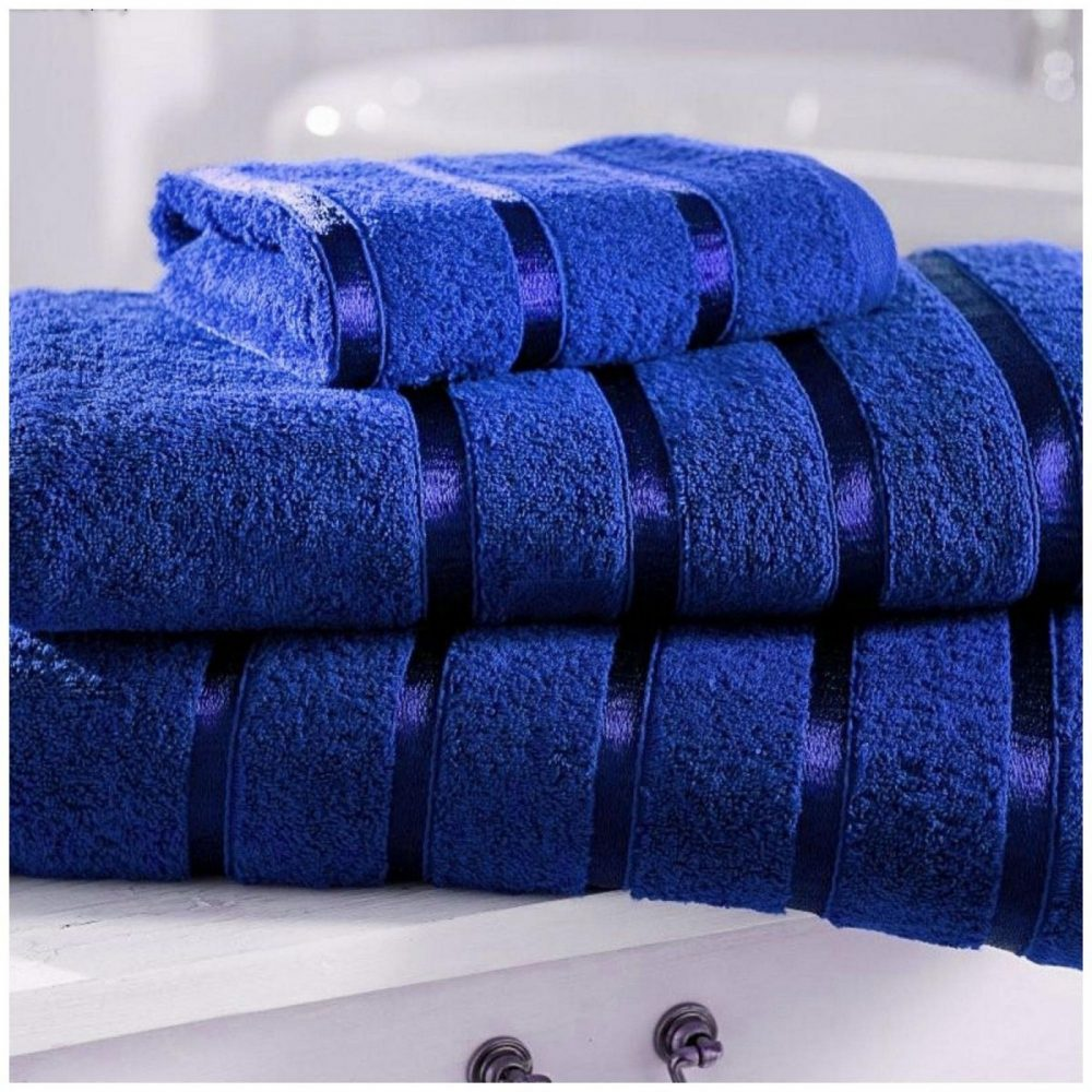 41163701 3 pk face towel kensington royal blue 1