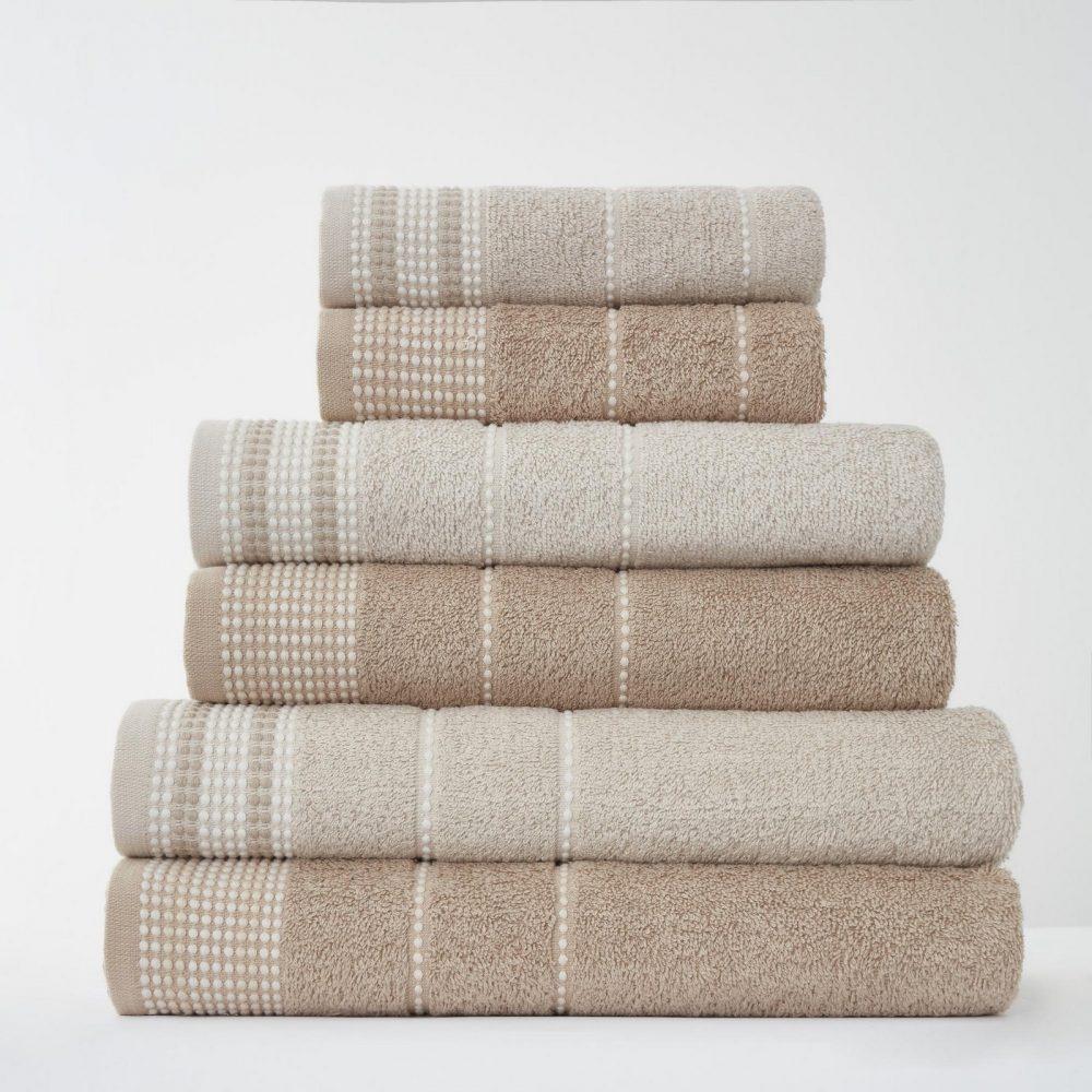 41363101 2pk dalby towel bath sheet natural 1