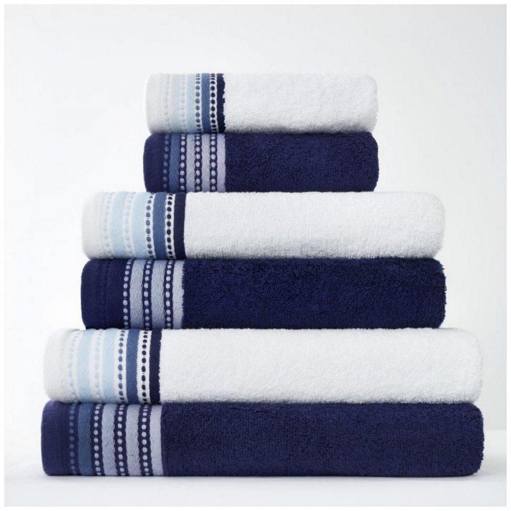 41363187 2pk malton towel bath sheet blue 1