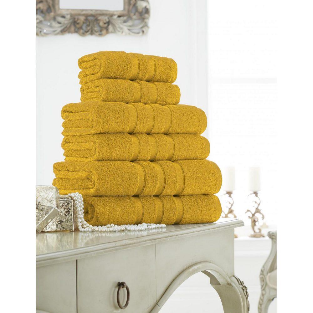 41373612 zero twist bath sheet ochre 1