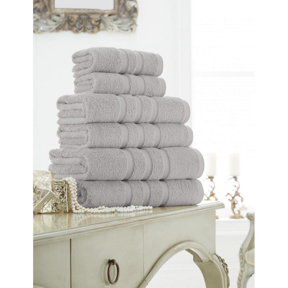 41373636 zero twist bath sheet silver 1