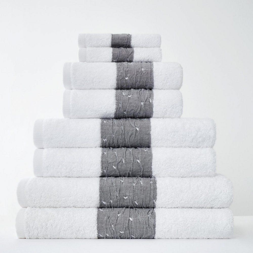 41374275 8pk bainsford towel white 1
