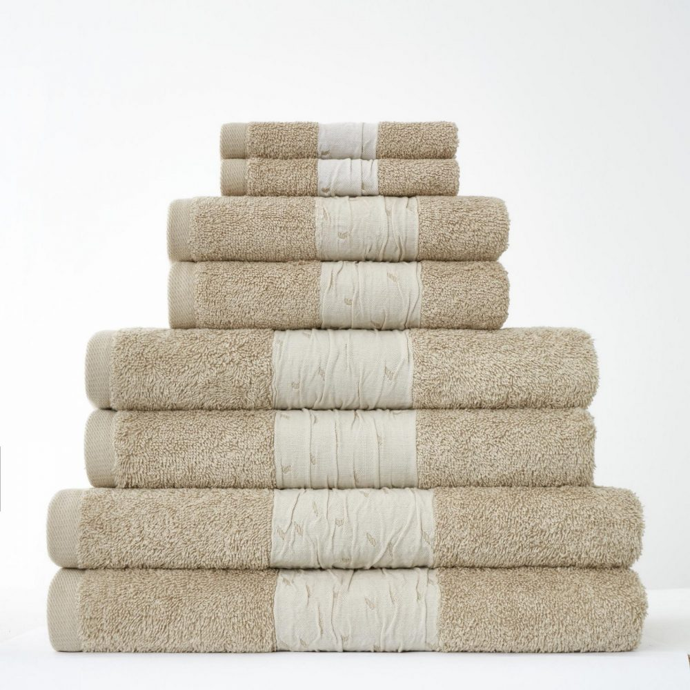 41374305 8pk bainsford towel natural 1
