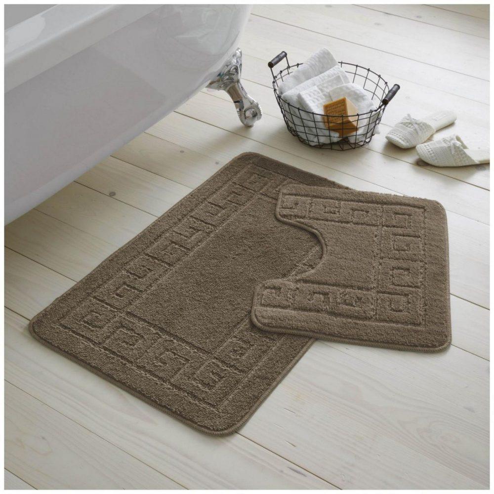42070115 2pc hanger pack greek bath mat mocha 1 2