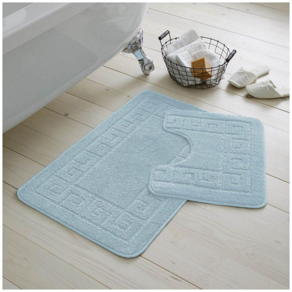 42070153 2pc hanger pack greek bath mat aqua 1 2