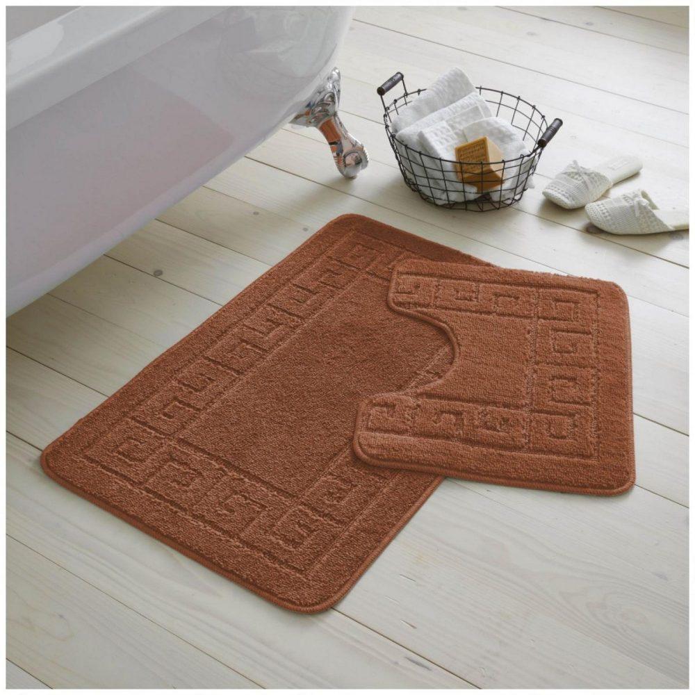 42070214 2pc hanger pack greek bath mat terracotta 1 2