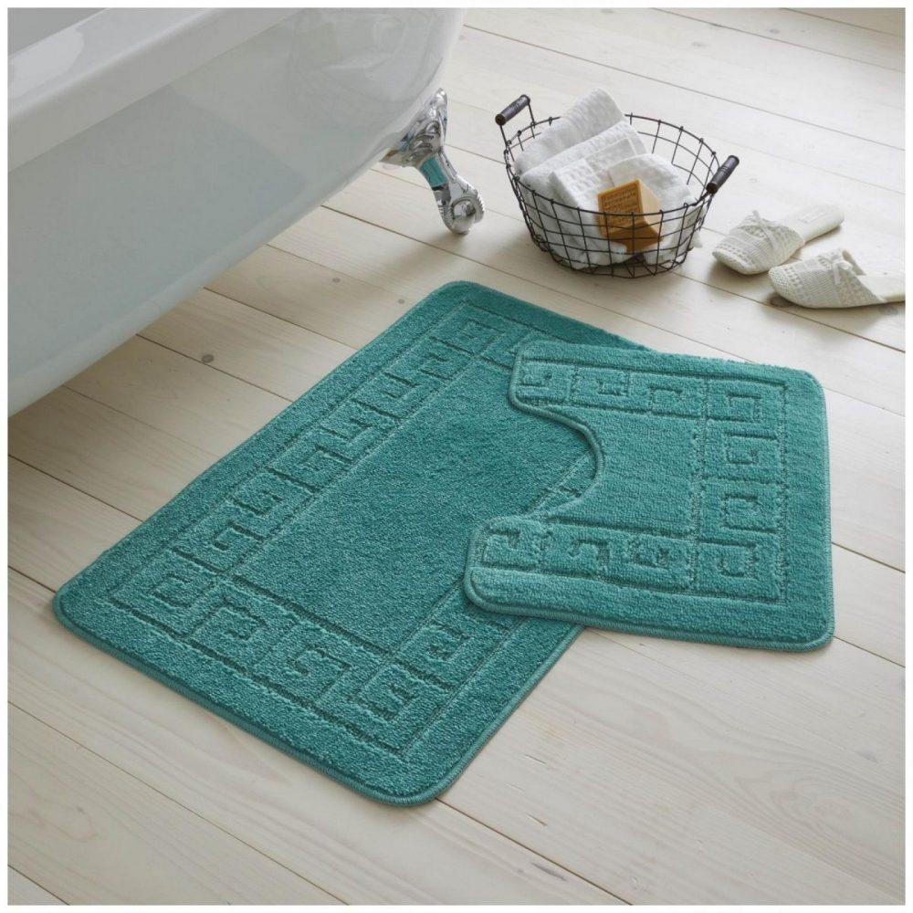42095415 2pc hanger pack greek bath mat teal 1 2