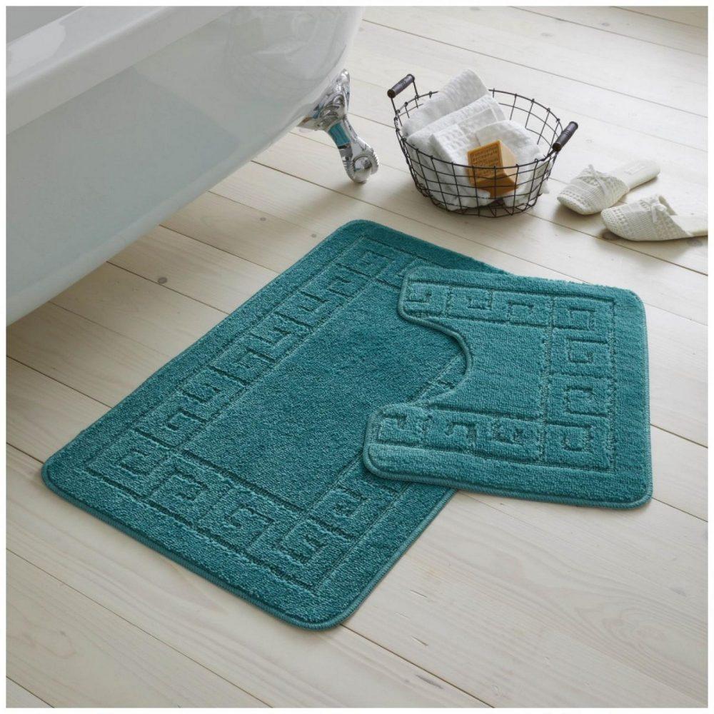 42095422 2pc hanger pack greek bath mat dark teal 1 2