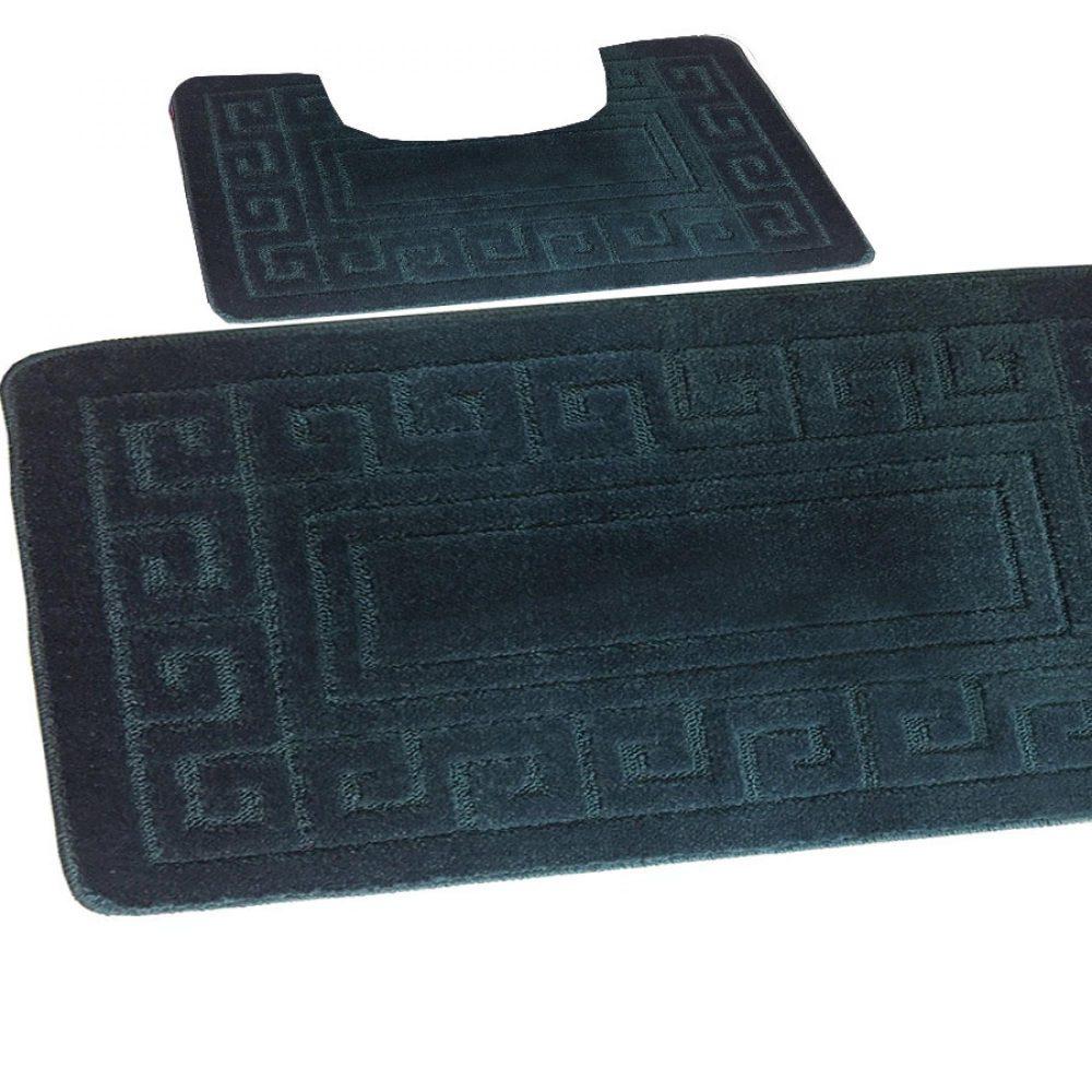 42095453 2pc hanger pack greek bath mat fern 1 3