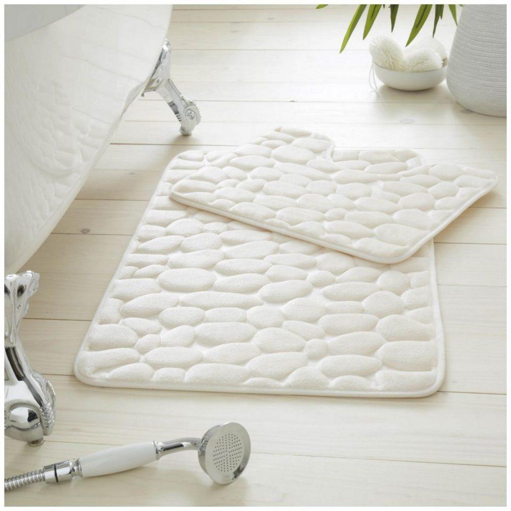42117711 2pc pebble memory bath set cream 1 3