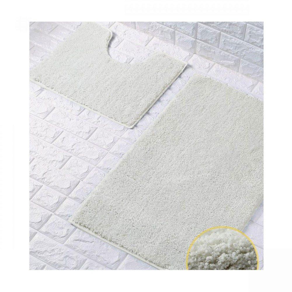 42137023 2 pc bath set shiny cream 1 4
