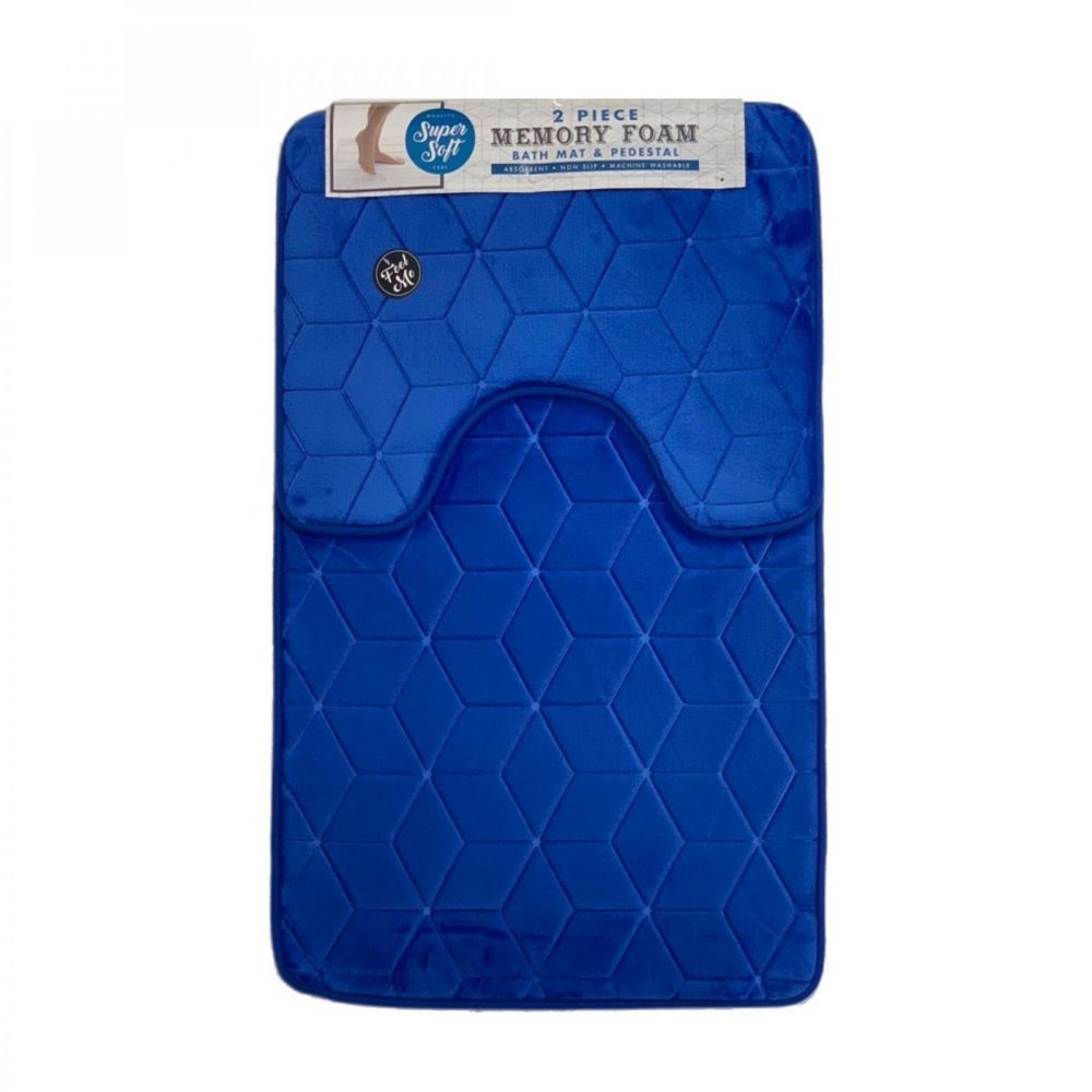 42155973 cube bath set 50x80 royal blue 1 3