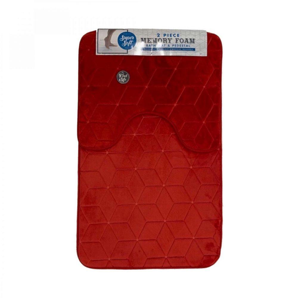 42156000 cube bath set 50x80 red 1 3