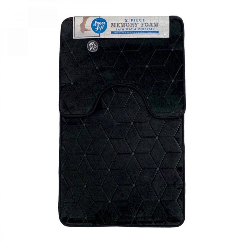 42156048 cube bath set 50x80 black 1 3