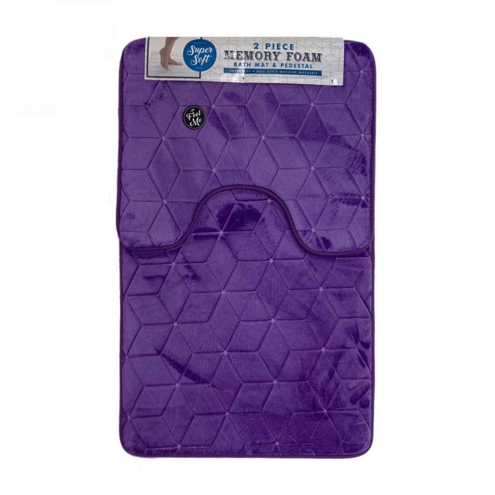 42156062 cube bath set 50x80 purple 1 3