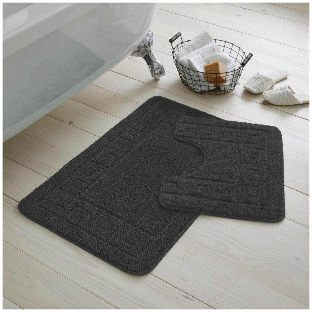 42163923 2pc hanger pack greek bath mat charcoal 1 2