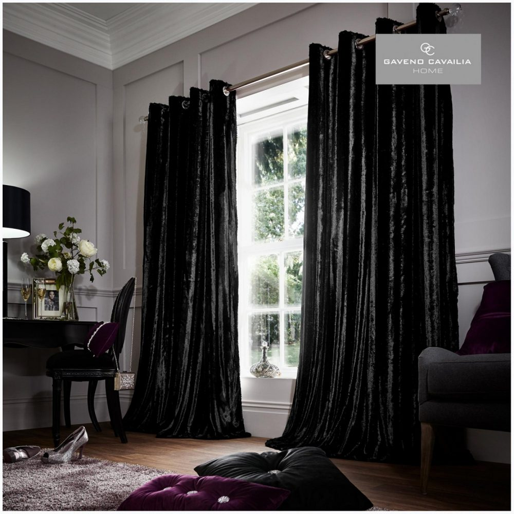 6456558 stripe shiny curtains 66x54 black 1 1