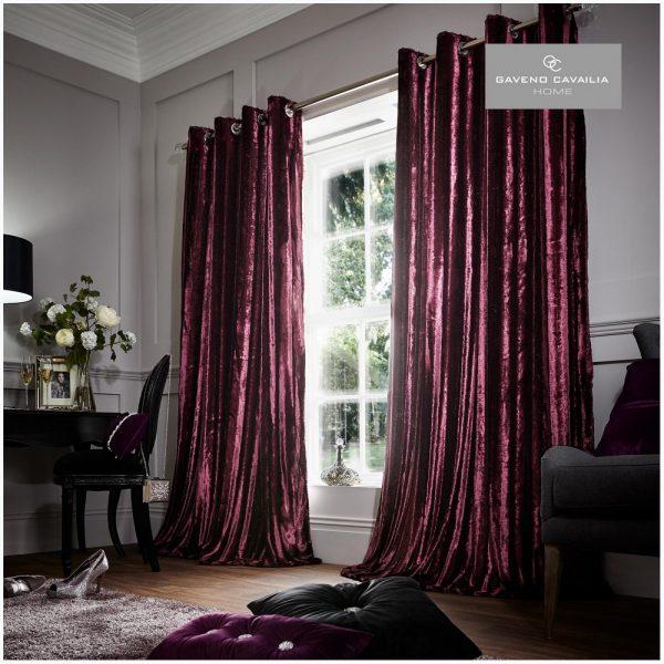 6456562 stripe shiny curtains 66x54 aubergine 1 2