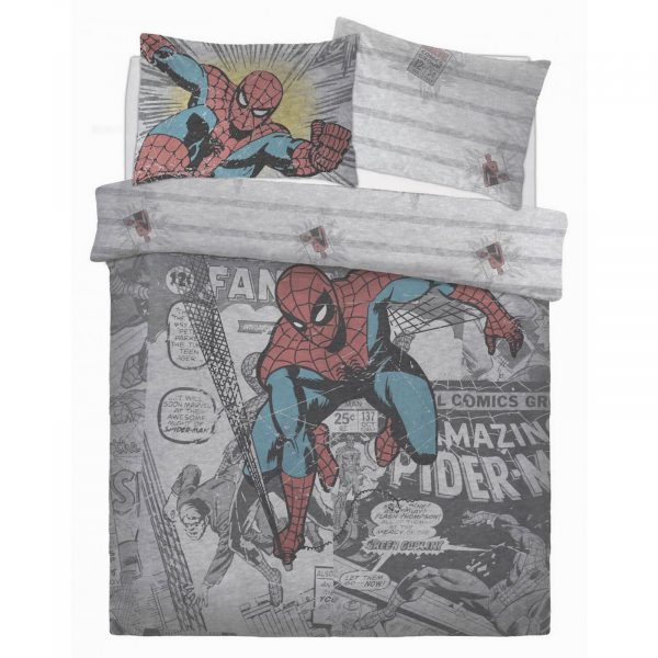 CB2709855 ds panel spiderman comic group duvet set double 1 2