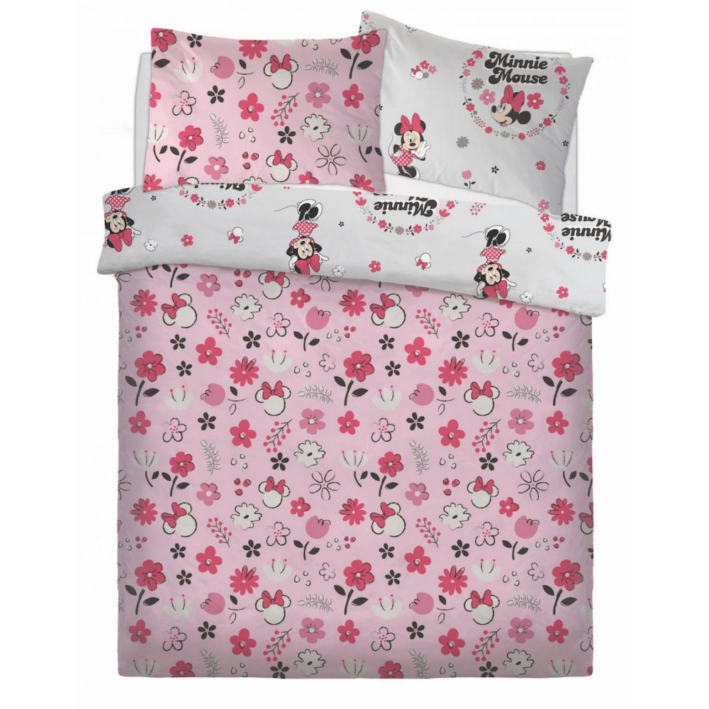 CB2709916 ds rotary duvet set minnie floral wink double 1 2
