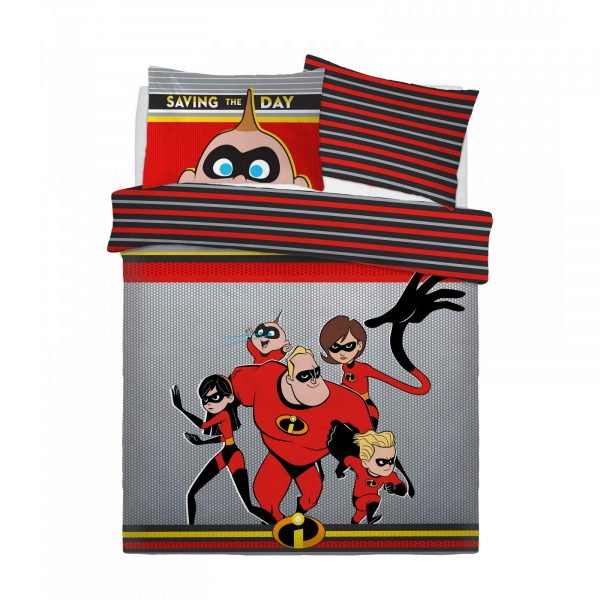 CB2710134 ds panel incredible saving the day duvet set double 1 2