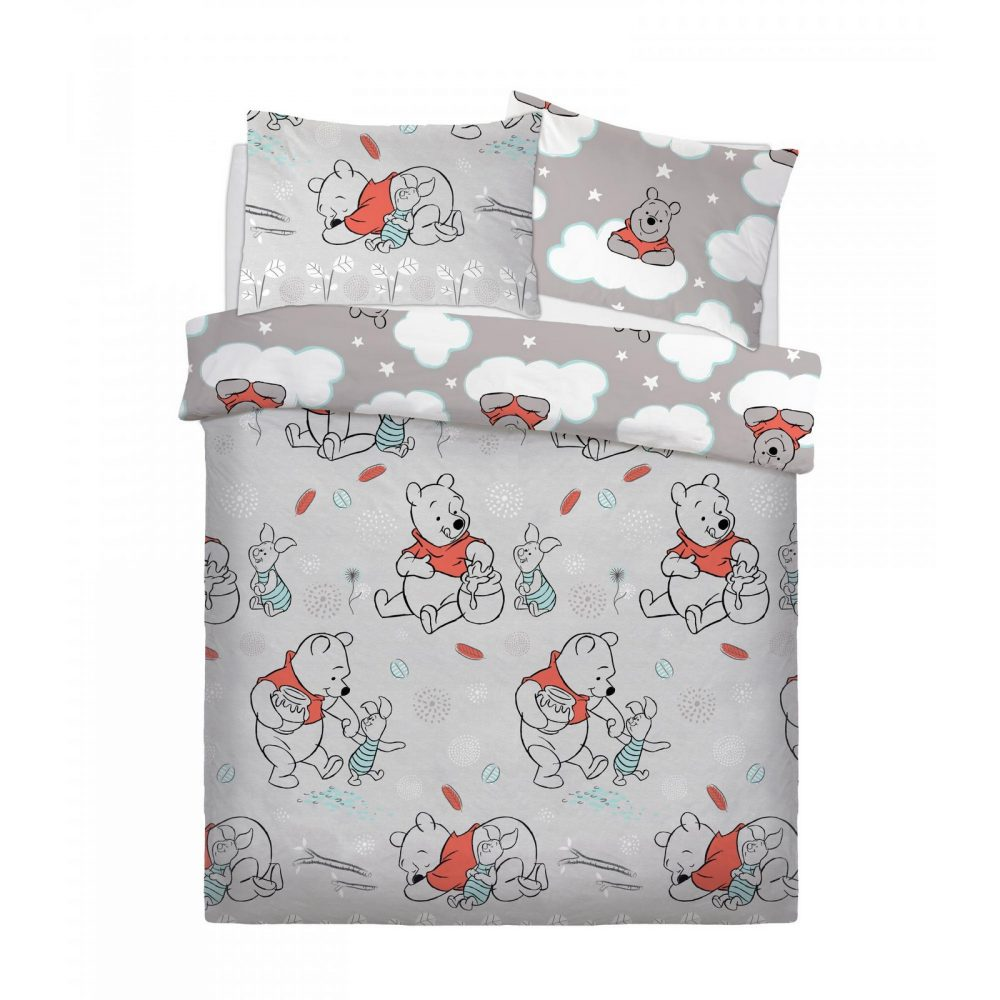 CB2710158 ds rotary winnie the pooh whimsy cloud duvet set double 1 2